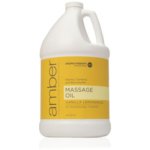 Massage Oil - Vanilla Lemongrass 128 oz. (527-VL)