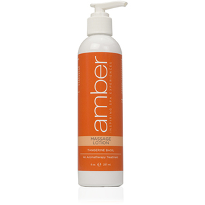Massage Lotion - Tangerine Basil 8 oz. (528-TB)