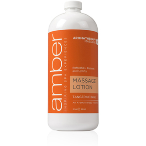 Massage Lotion - Tangerine Basil 32 oz. (529-TB)