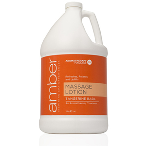 Massage Lotion - Tangerine Basil 128 oz. (530-TB)