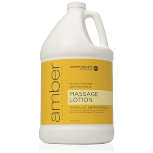 Massage Lotion - Vanilla Lemongrass 128 oz. (530-VL)