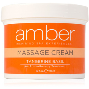 Massage Cream - Tangerine Basil 32 oz. (532-TB)