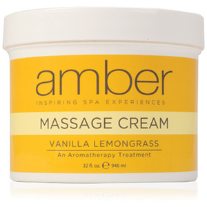 Massage Cream - Vanilla Lemongrass 32 oz. (532-VL)