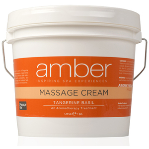 Massage Cream - Tangerine Basil 128 oz. (533-TB)