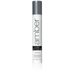 Professional Facial Serum - Pure Peptide 99 0.5 oz. - part of the Amber Serum•ology Collection (SK134)