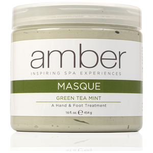 Calming HandFoot Masque - Green Tea Mint 16 oz. (428-GT)