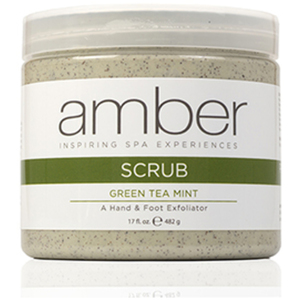 Scrub HandFoot - Green Tea Mint 17 oz. (427-GT)