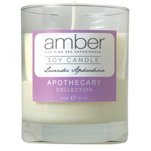 Soy Candle - Lavender Aphrodisia 55 Hour Life Span (R668-L)