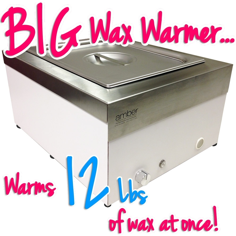 Super Large Capacity Stainless Steel Wax Heater Holds 12 Lbs Of