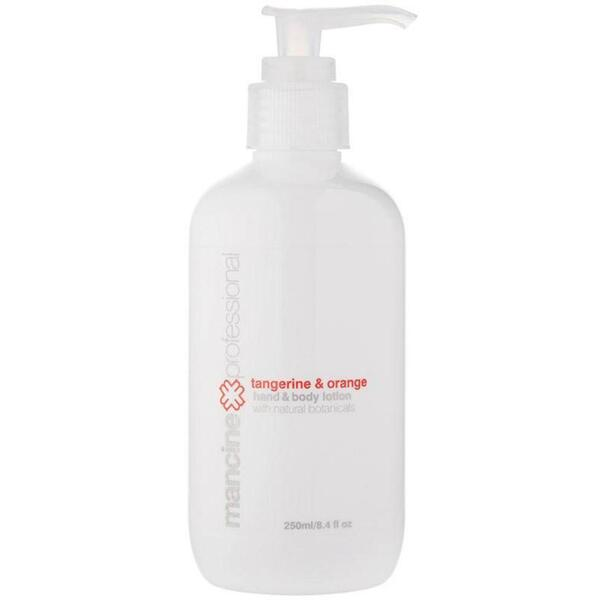 Mancine Hand & Body Lotion: Tangerine & Orange Retail Size 8.4 fl. oz. - 250 mL.