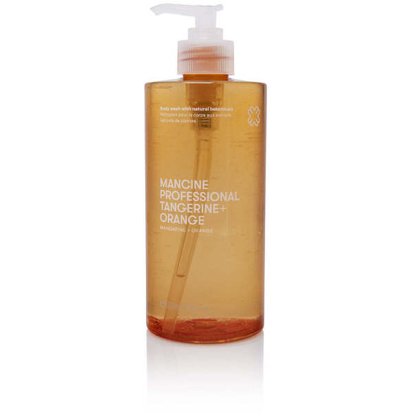Mancine Body Wash - Tangerine & Orange 12.7 oz. - 375 mL.