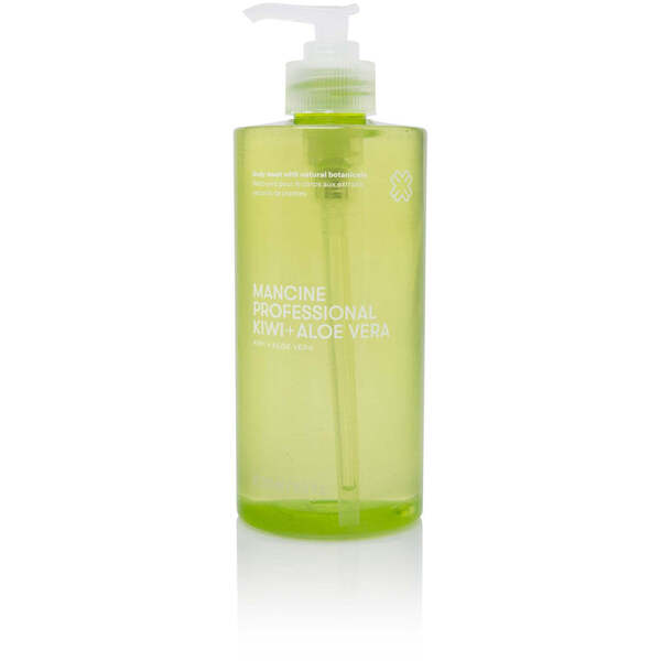 Mancine Body Wash - Kiwi & Aloe 12.7 oz. - 375 mL.