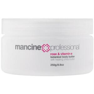 Mancine Body Butter - Rose & Vitamin E 8.4 fl oz. - 250 mL.