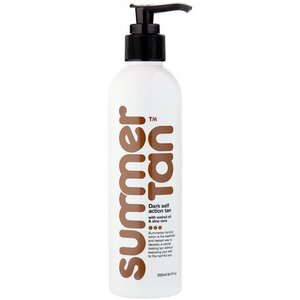 Summer Tan - Instant Self Action Lotion - DARK 8.4 oz. - 250 mL.