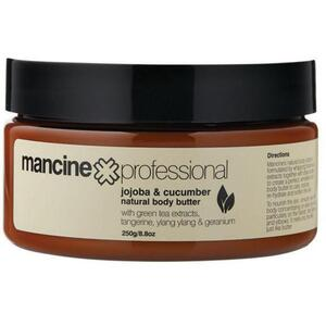 Mancine - Natural Body Butter - Jojoba & Cucumber 8.8 oz. - 250 grams
