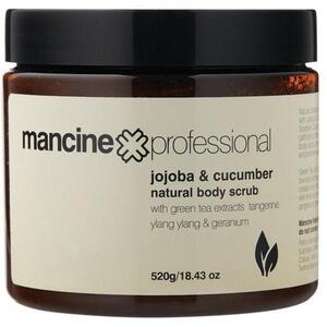 Mancine - Natural Body Scrub - Jojoba & Cucumber 18.43 oz. - 520 grams