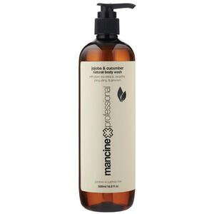 Mancine - Natural Body Wash - Jojoba & Cucumber 16.8 fl. oz. - 500 mL.