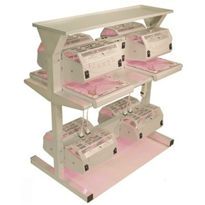 4X4 Manicure + Pedicure Nail Dryer Station with Shelf (200205)