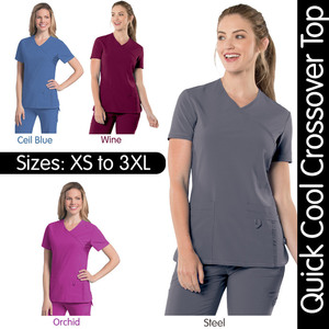Urbane Performance - Women's Quick Cool Crossover Top