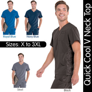Urbane Performance - Men's Quick Cool V Neck Top