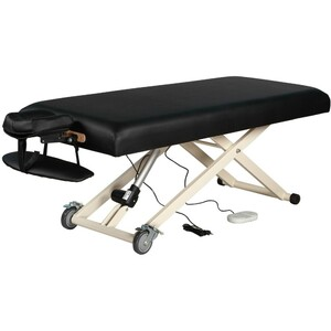 "Electric Lift Massage Table | Black - 30"" Width 