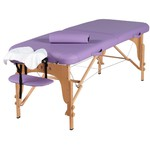 "Soothe Portable Massage Table | Purple or Royal Blue - 28"" Width 