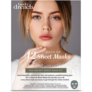 Body Drench The Advent Sheet Mask Kit 12 Masks (1300)