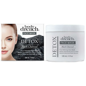 Body Drench Detox Black Charcoal Pore Refining Face Mask 4 oz. (1946)
