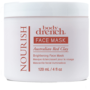 Body Drench Nourish Australian Red Clay Brightening Face Mask 4 oz. (1947)