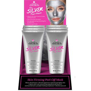 Body Drench The Silver Pearl Peel Off Mask 3 oz. - 6 Piece Display (4274)