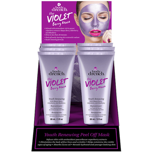 Body Drench The Violet Berry Peel Off Mask 3 oz. - 6 Piece Display (4276)