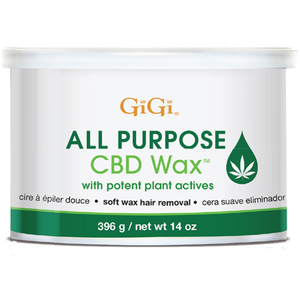 GiGi All Purpose CBD Soft Wax 14 oz. (1219)