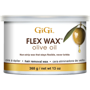 GiGi Olive Oil Flex Wax - Stripless Hard Wax 13 oz. (7796)