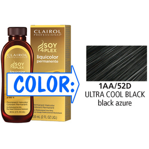 Clairol Professional Liquicolor Permanente - 1AA52D Ultra Cool Black 2 oz. (8852)