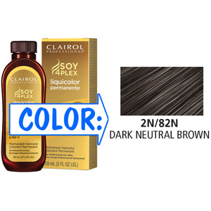 Clairol Professional Liquicolor Permanente - 2N82N Dark Neutral Brown 2 oz. (8882)