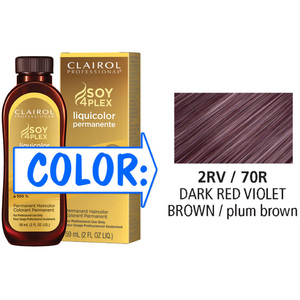 Clairol Professional Liquicolor Permanente - 2RV70R Dark Red Violet Brown 2 oz. (8870)