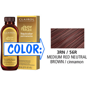 Clairol Professional Liquicolor Permanente - 3RN56R Medium Red Neutral Brown 2 oz. (8856)