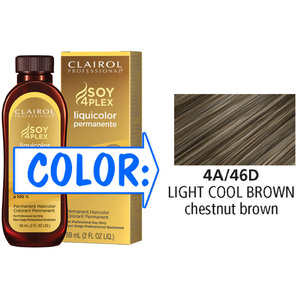 Clairol Professional Liquicolor Permanente - 4A46D Light Cool Brown 2 oz. (8846)