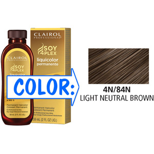 Clairol Professional Liquicolor Permanente - 4N84N Light Neutral Brown 2 oz. (8884)