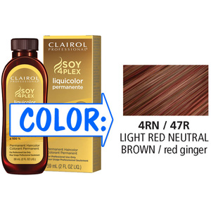 Clairol Professional Liquicolor Permanente - 4RN47R Light Red Neutral Brown 2 oz. (8847)