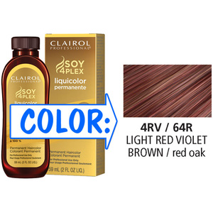 Clairol Professional Liquicolor Permanente - 4RV64R Light Red Violet Brown 2 oz. (8864)