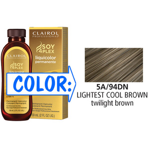 Clairol Professional Liquicolor Permanente - 5A94DN Lightest Cool Brown 2 oz. (8894)