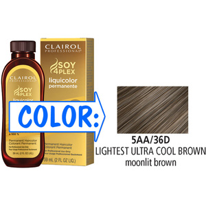 Clairol Professional Liquicolor Permanente - 5AA36D Lightest Ultra Cool Brown 2 oz. (8836)