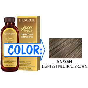Clairol Professional Liquicolor Permanente - 5N85N Lightest Neutral Brown 2 oz. (8885)