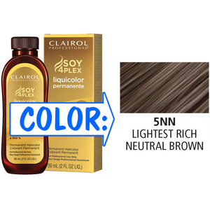 Clairol Professional Liquicolor Permanente - 5NN Lightest Rich Neutral Brown 2 oz. (8881)