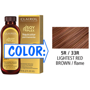 Clairol Professional Liquicolor Permanente - 5R33R Lightest Red Brown 2 oz. (8833)