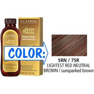 Clairol Professional Liquicolor Permanente - 5RN75R Lightest Red Neutral Brown 2 oz. (8875)