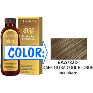 Clairol Professional Liquicolor Permanente - 6AA32D Dark Ultra Cool Blonde 2 oz. (8832)