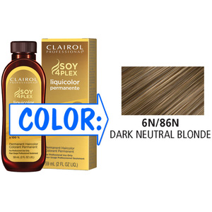 Clairol Professional Liquicolor Permanente - 6N86N Dark Neutral Blonde 2 oz. (8886)