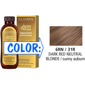 Clairol Professional Liquicolor Permanente - 6RN31R Dark Red Neutral Blonde 2 oz. (8831)
